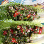 tabbouli with quinoa—gluten free